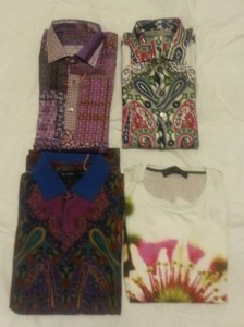 What I got from Etro..